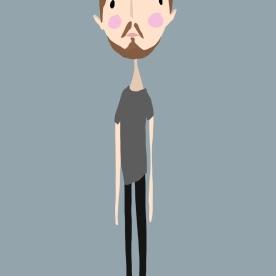 Digital Sketch of my Handsome Boyfriend