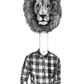 Half Dude Half Lion