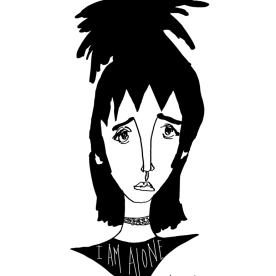 Lydia Deetz - I am alone - Beetlejuice