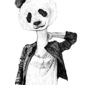 Half Lady Half Panda