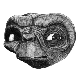 E.T. Pen and Ink