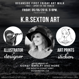 Advertisement for my Art Sale