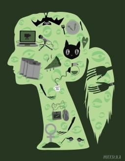 Self Portrait / Icon design Practice