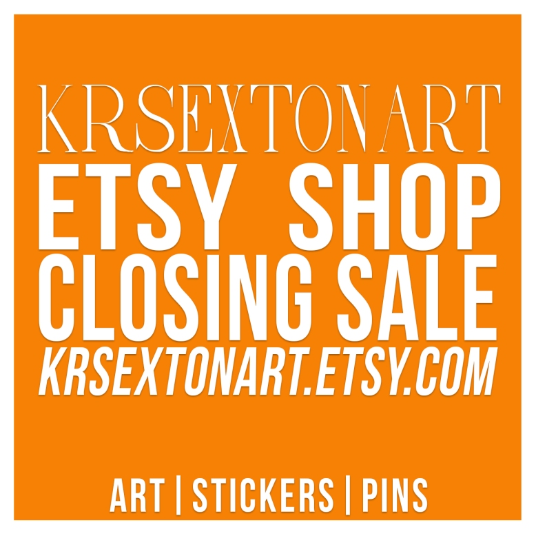 Etsy Shop Closure