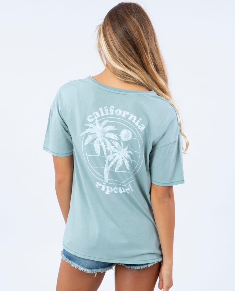 Destination Oversized Tee - California